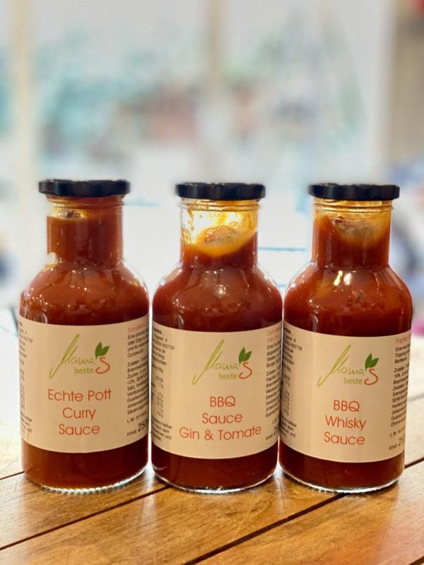 Curry Sauce in 250ml Falschen